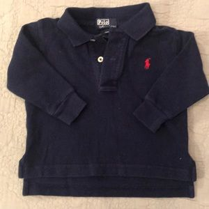 Ralph Lauren baby boy's long sleeve polo 12 months